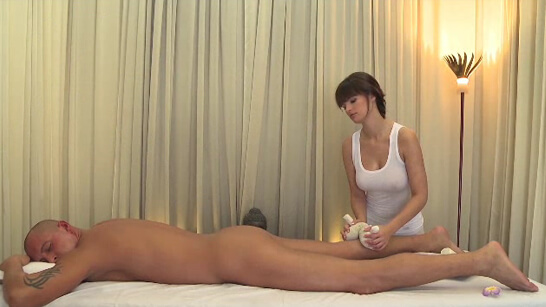 Hot massage turns into great sex